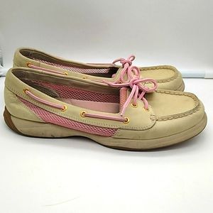 Sperry Leather Upper Top Siders Women's 9.5